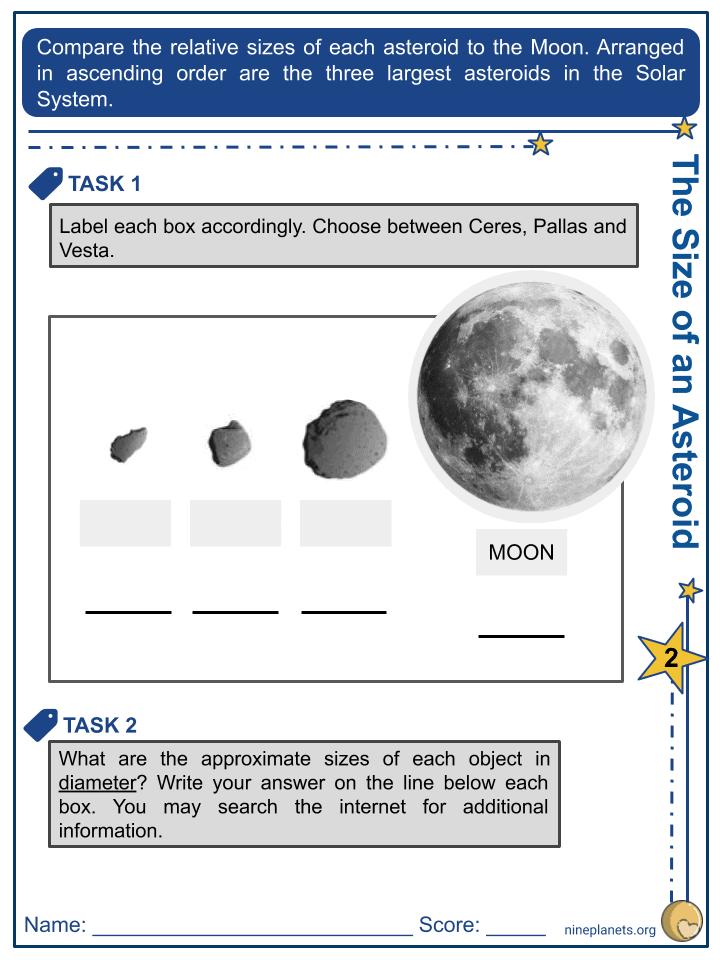 Asteroids Worksheet (7)