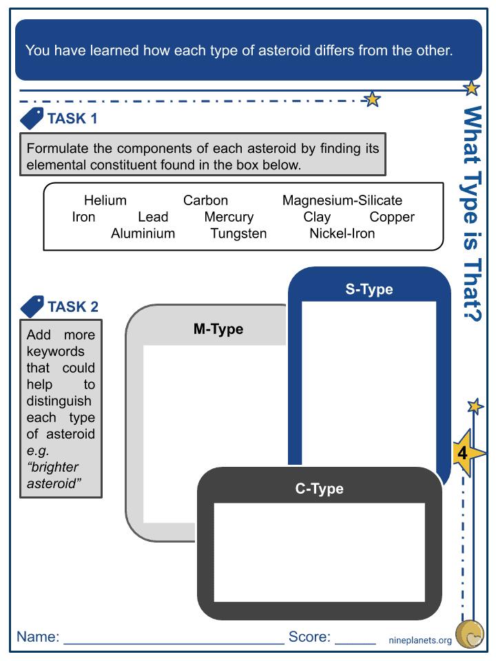 Asteroids Worksheet (9)
