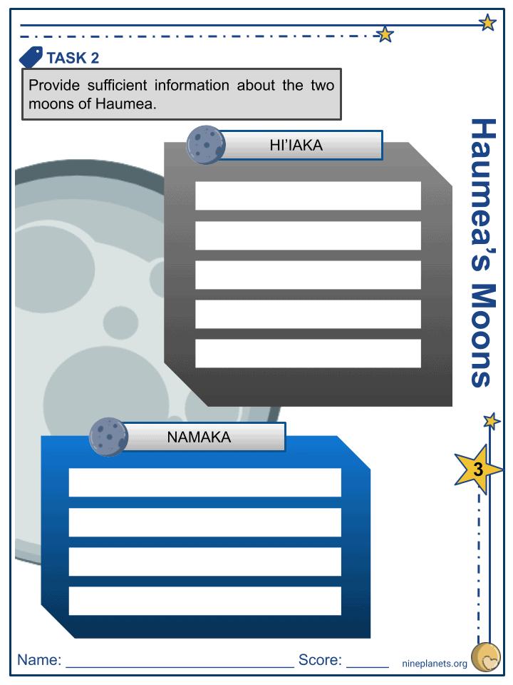 Haumea Worksheets (6)