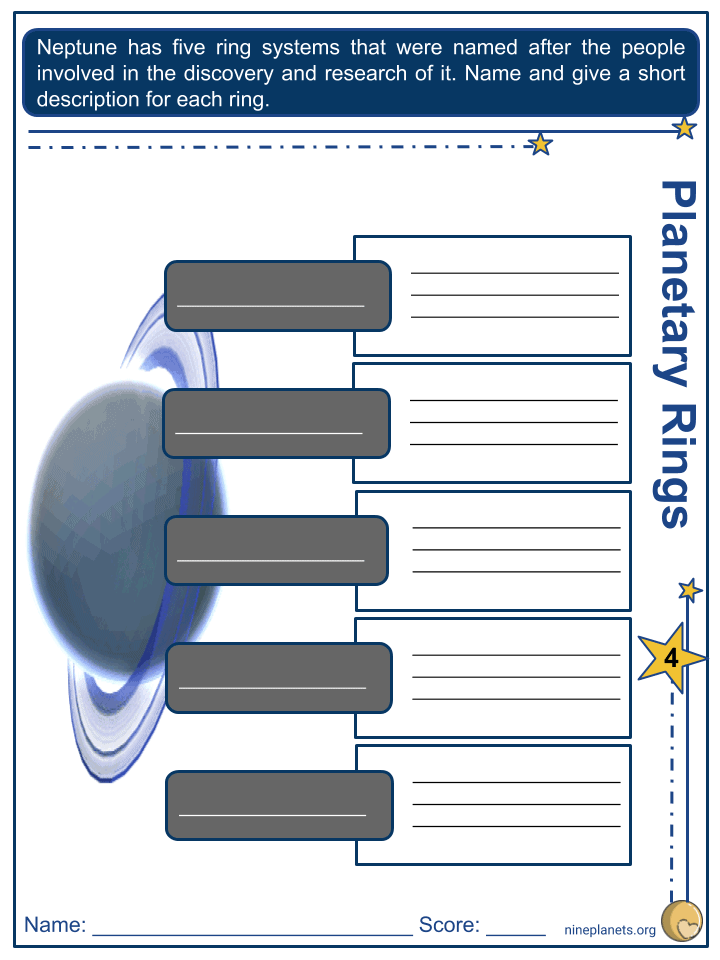 Neptune Worksheets (9)