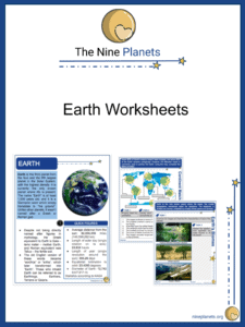 Earth Worksheets