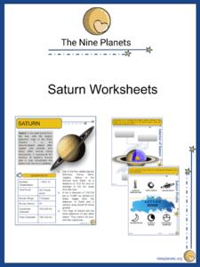 Saturn Worksheets