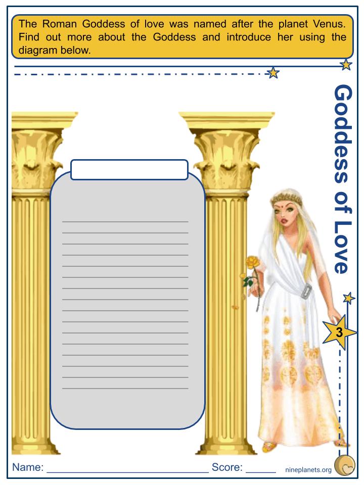 Venus Worksheets (4)