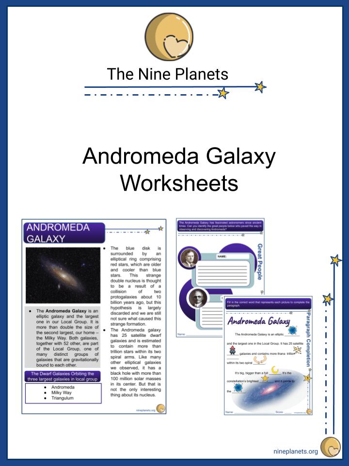 Andromeda Galaxy Worksheets (5)
