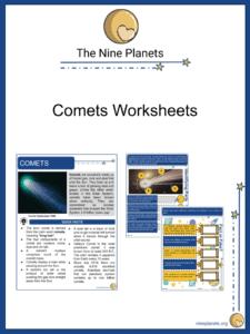 Comets Worksheets