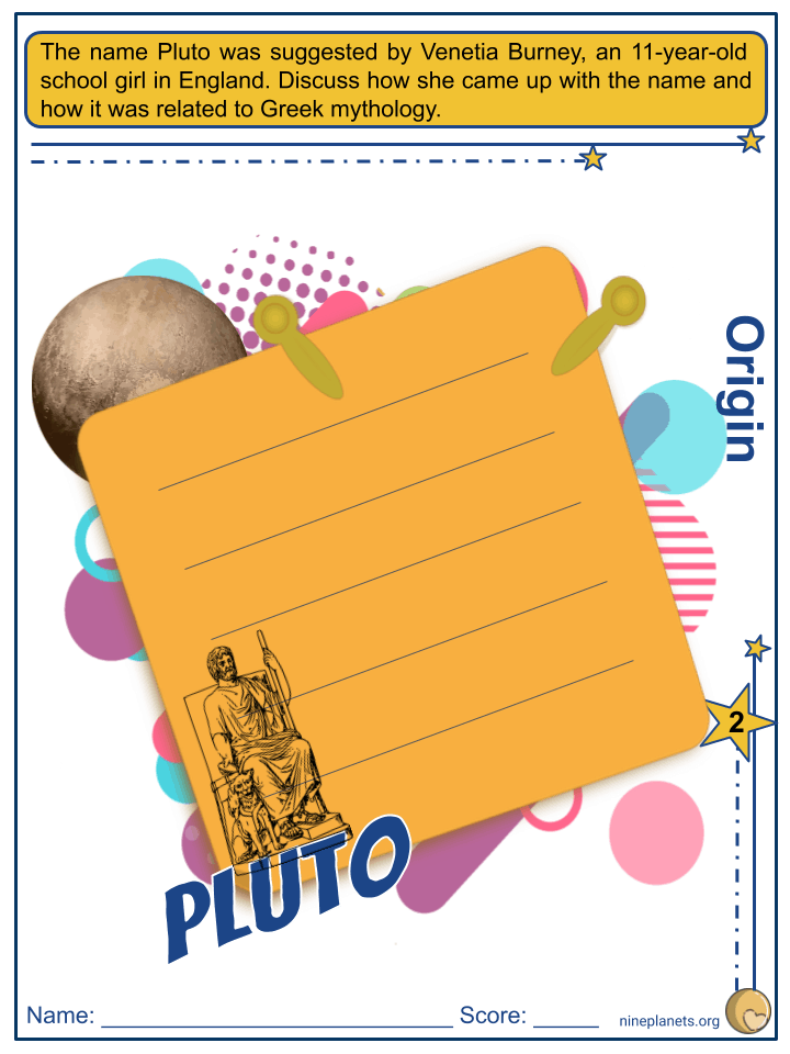 Pluto Worksheets (3)