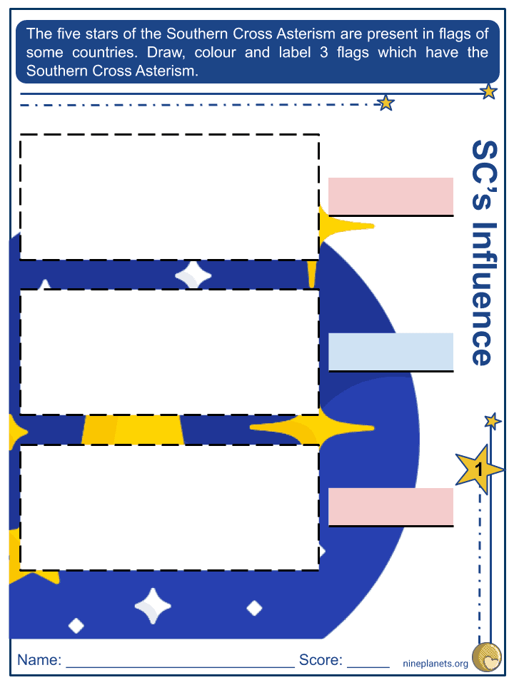 Southern Cross Worksheets (1)