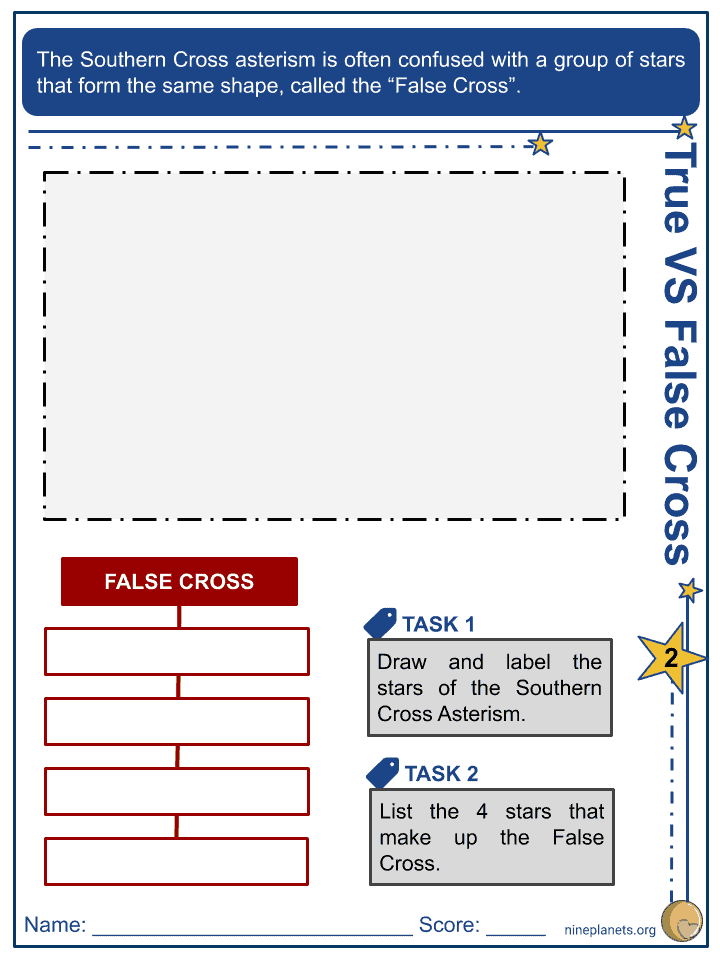 Southern Cross Worksheets (2)