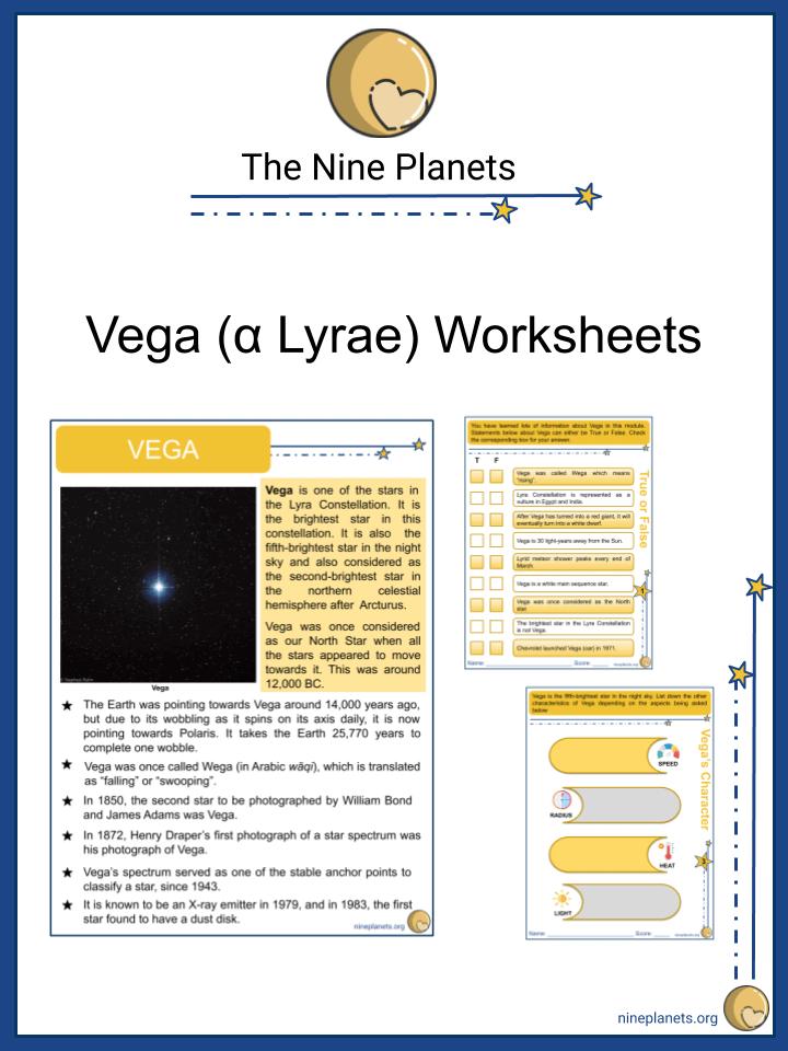 Vega (α Lyrae) Worksheet (1)