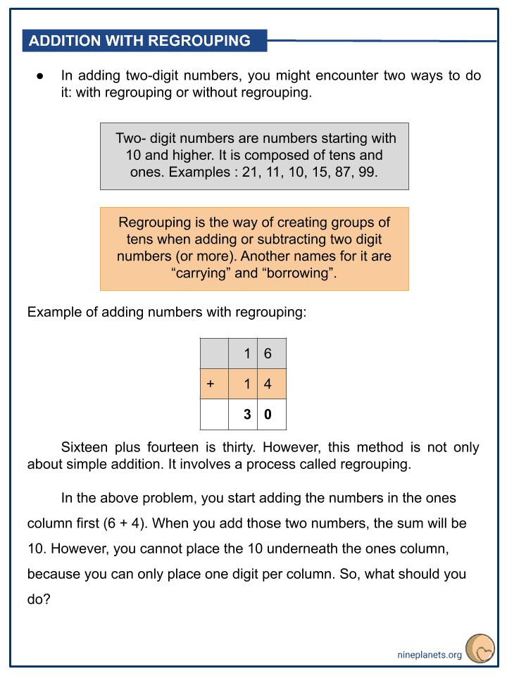Addition of Numbers within 100 (2)