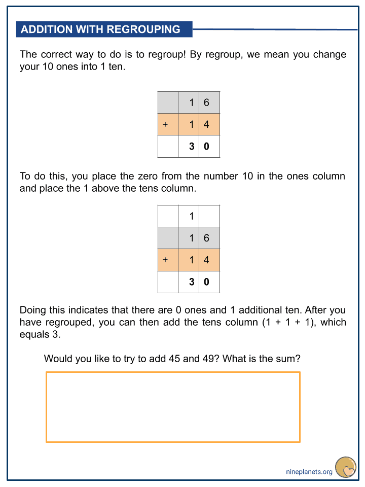 Addition of Numbers within 100 (3)