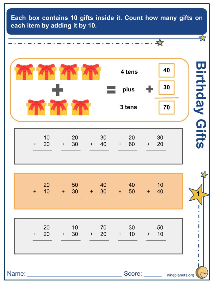 Addition of Numbers within 100 (4)