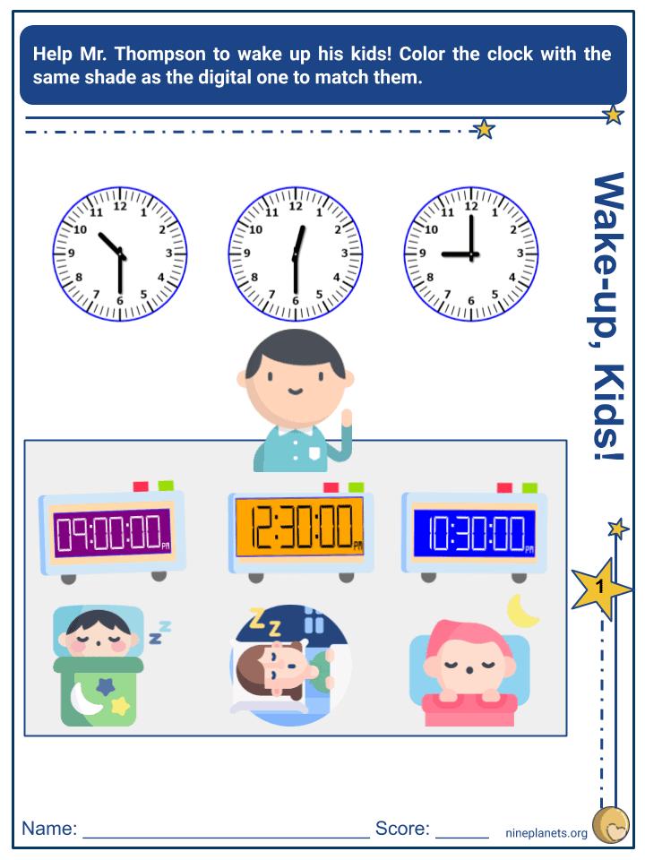 Analog and Digital Clocks (4)