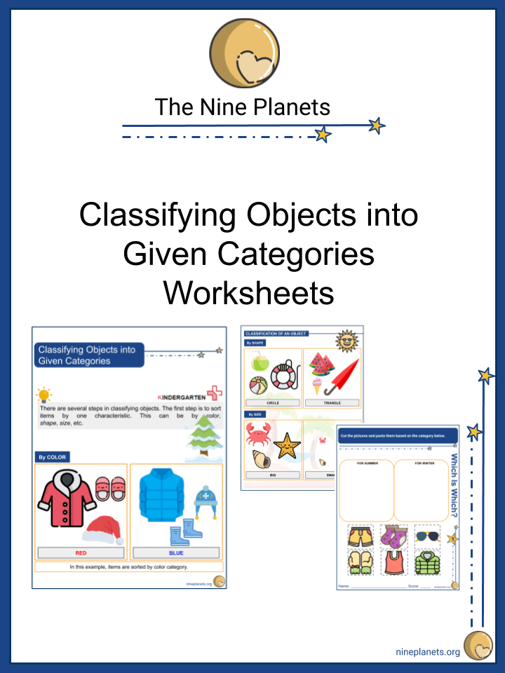 Classifying Objects into Given Categories