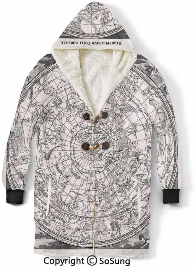 Constellation Blanket Hooded Sweatshirt