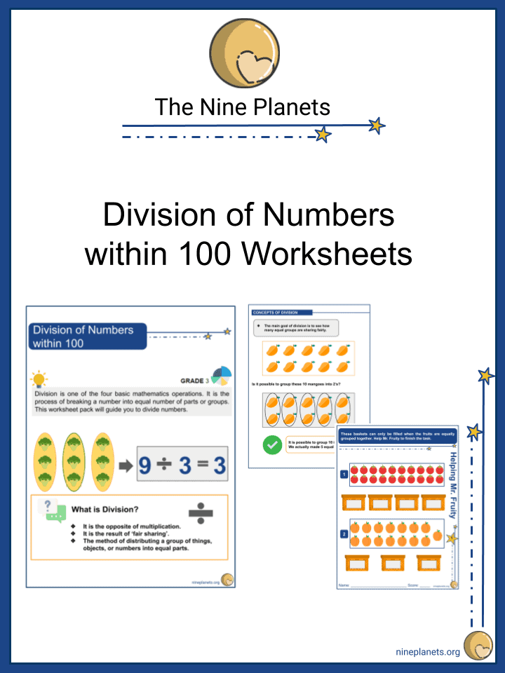 Division of Numbers within 100