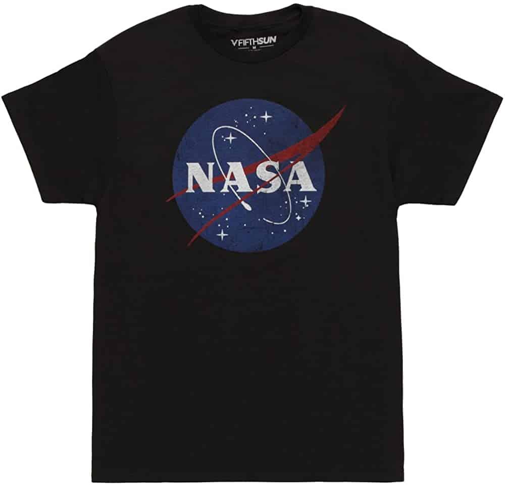 Fifth Sun-NASA Logo T-shirt