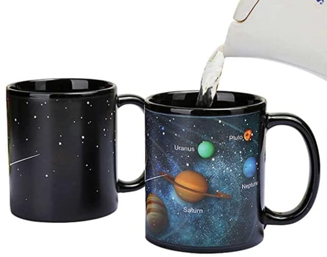 Heat Changing Solar System Magic Coffee Mug