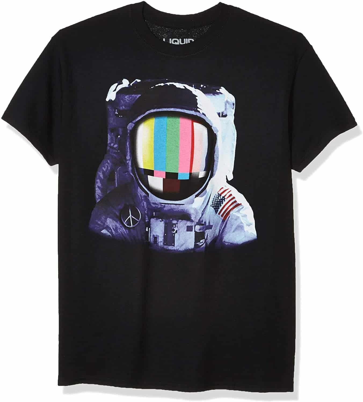 Liquid Blue-Space Station T-Shirt