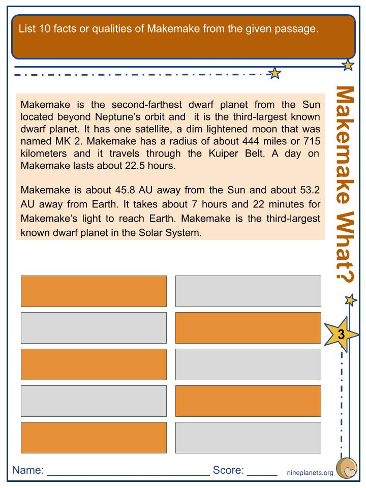 Makemake Worksheets (2)