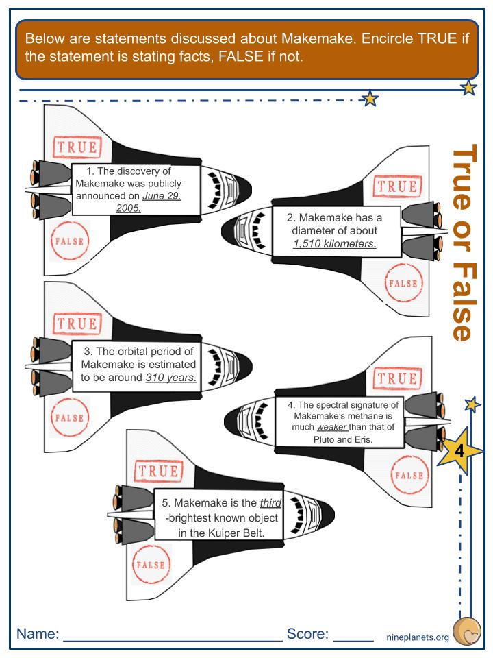 Makemake Worksheets (3)