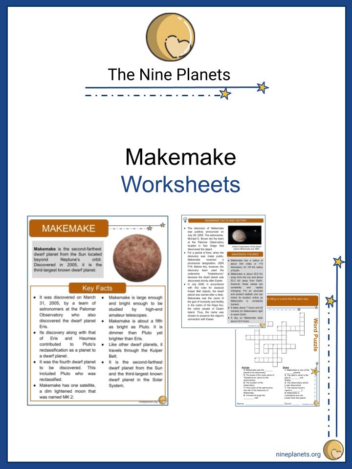 Makemake Worksheets (4)