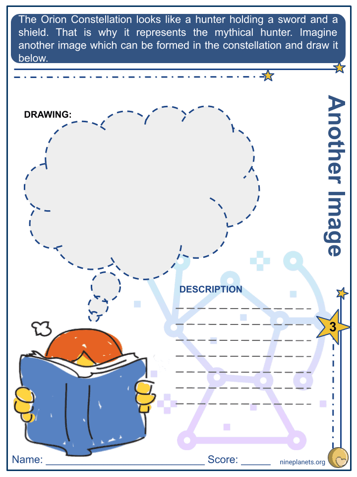 Orion Constellation Worksheets (6)