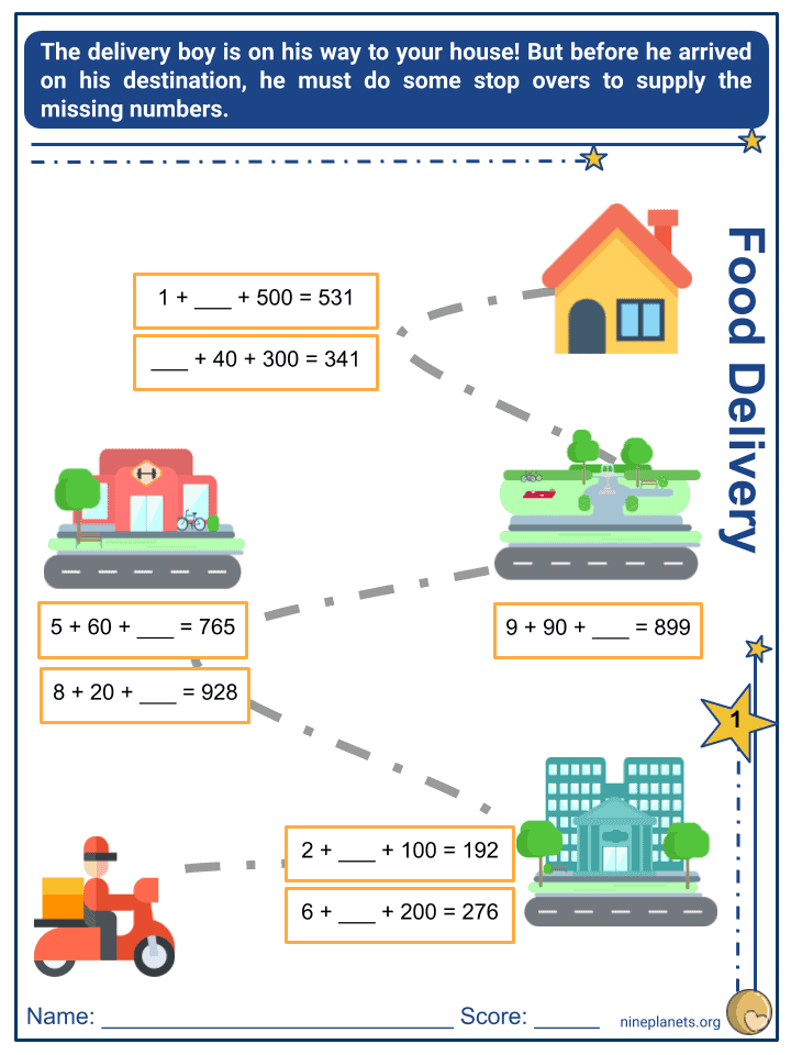 Place Value of a 3-digit Number (4)