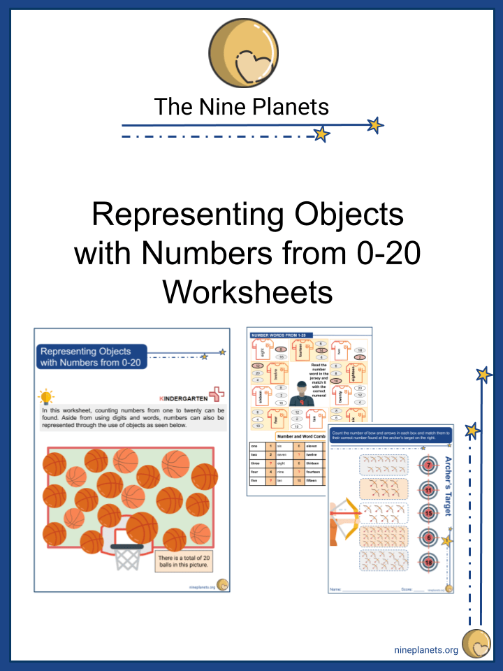 Representing Objects with Numbers from 0-20 (1)
