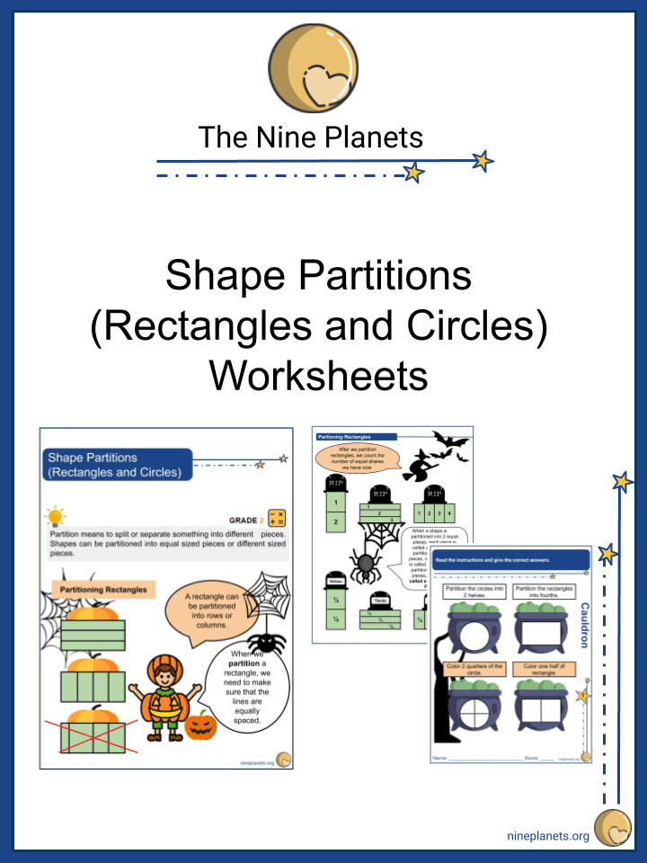 Shape Partitions (Rectangles and Circles)