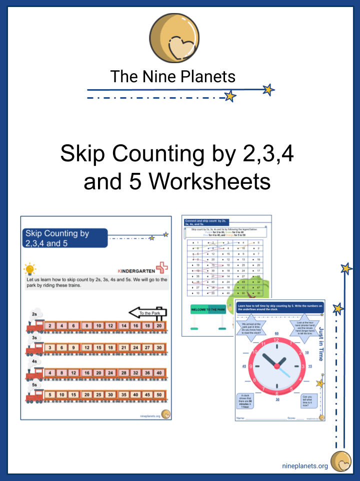 Skip Counting by 2,3,4 and 5