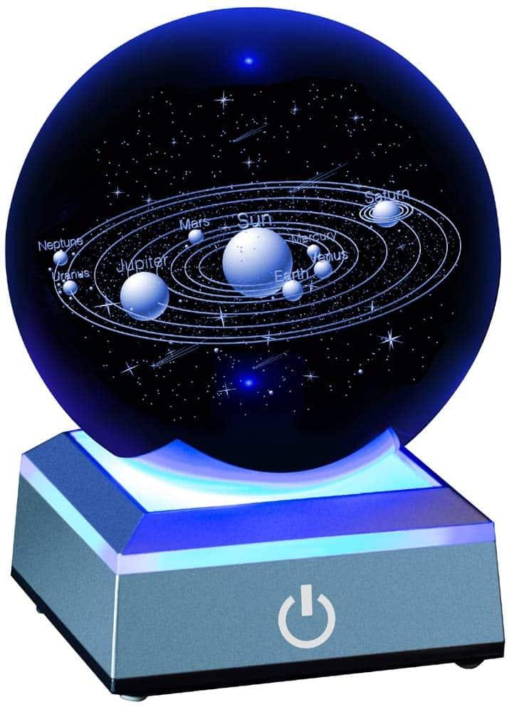 Solar System Crystal Ball 80mm