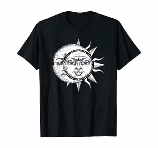 Sun Moon Astronomy T-Shirt