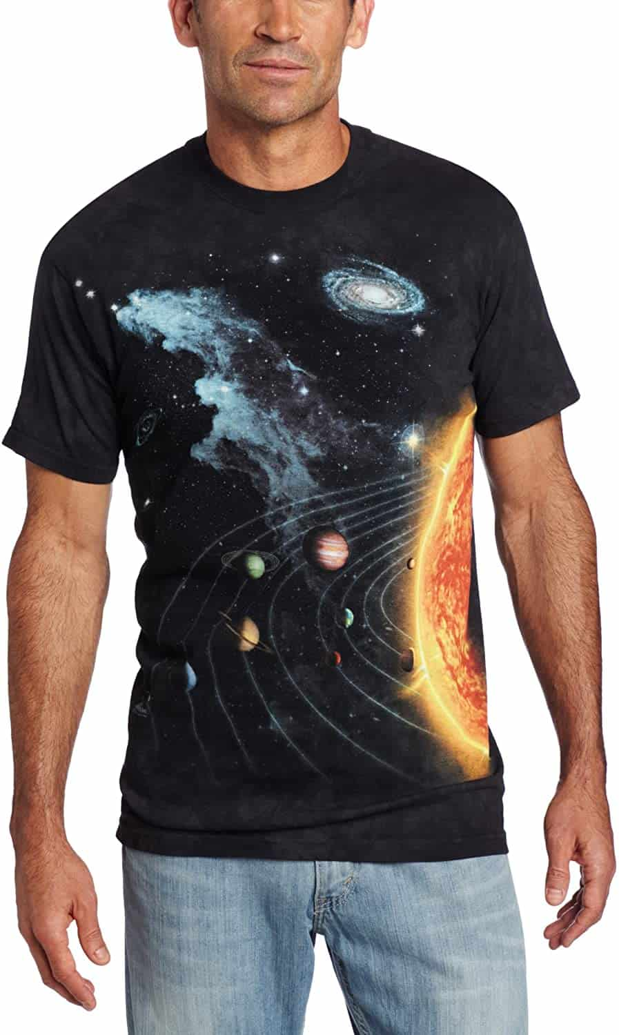 The Mountain-Solar System T-shirt