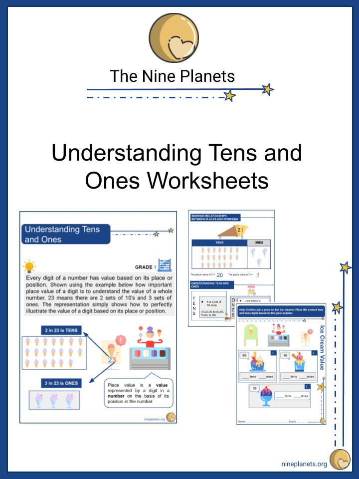 Understanding Tens and Ones Worksheets