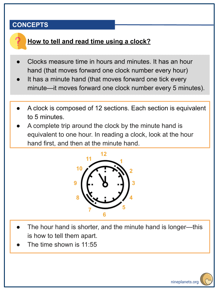 Understanding Time Worksheets (3)