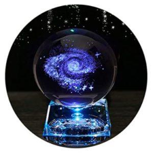 Zulux Galaxy Crystal Ball