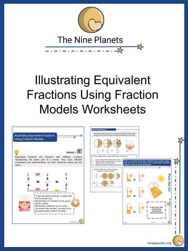 Illustrating Equivalent Fractions Using Fraction Models