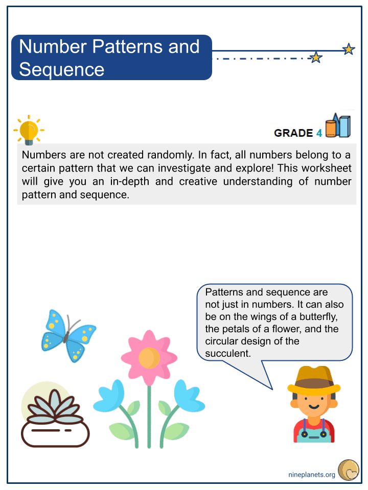 Number Patterns and Sequence (1)