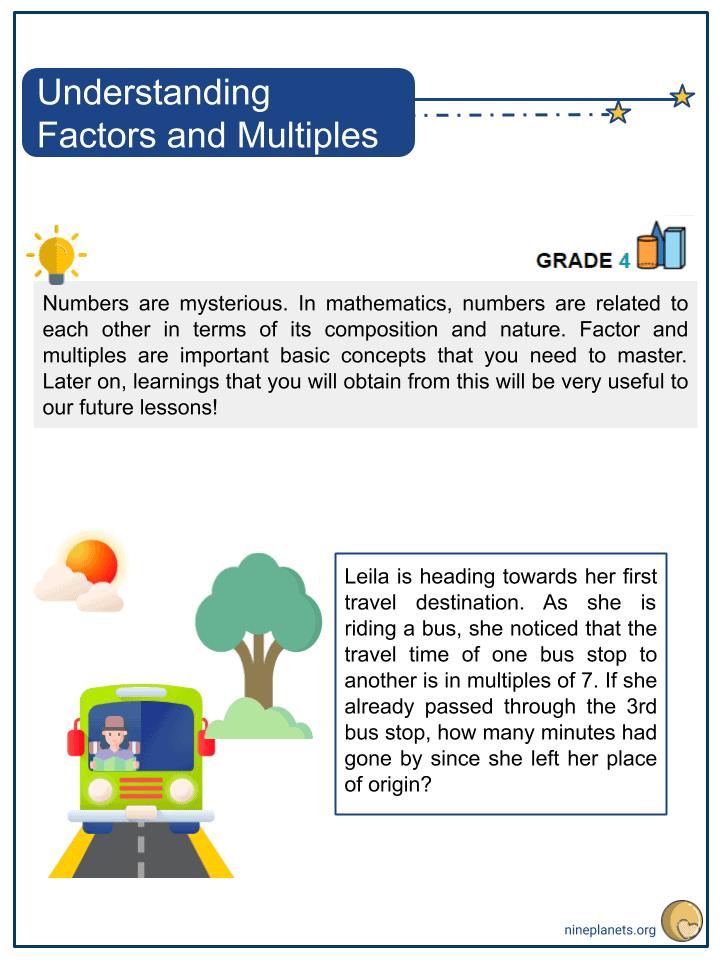 Understanding Factors and Multiples (1)