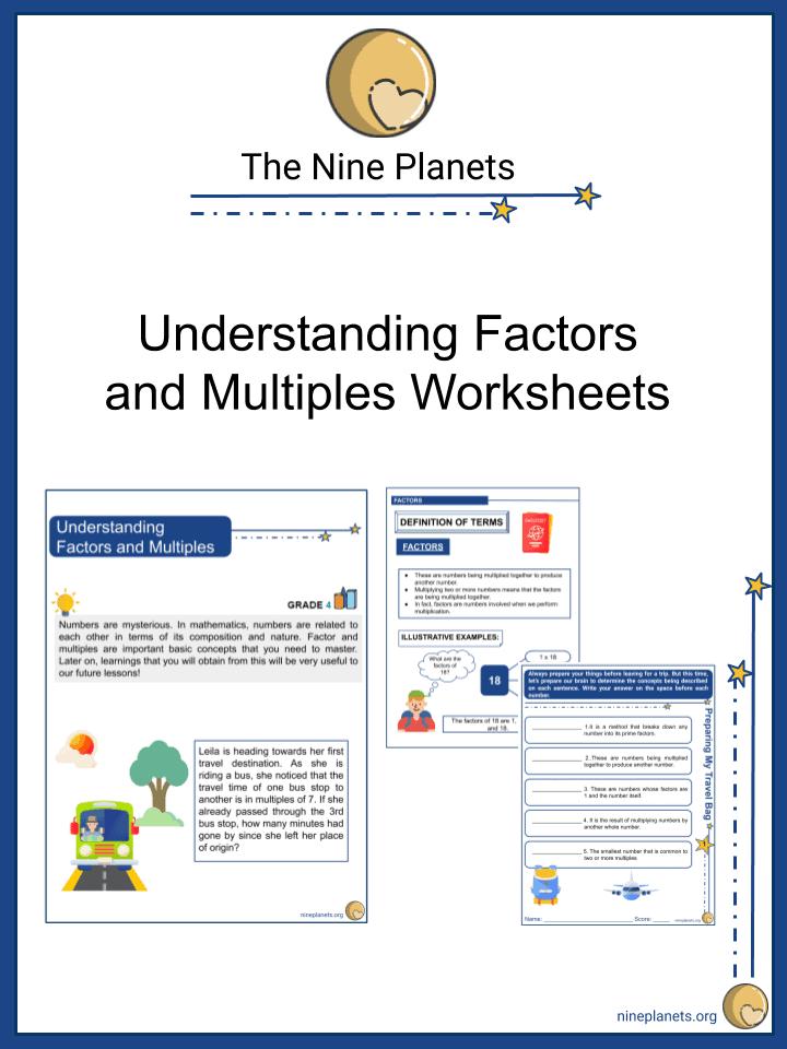 Understanding Factors and Multiples