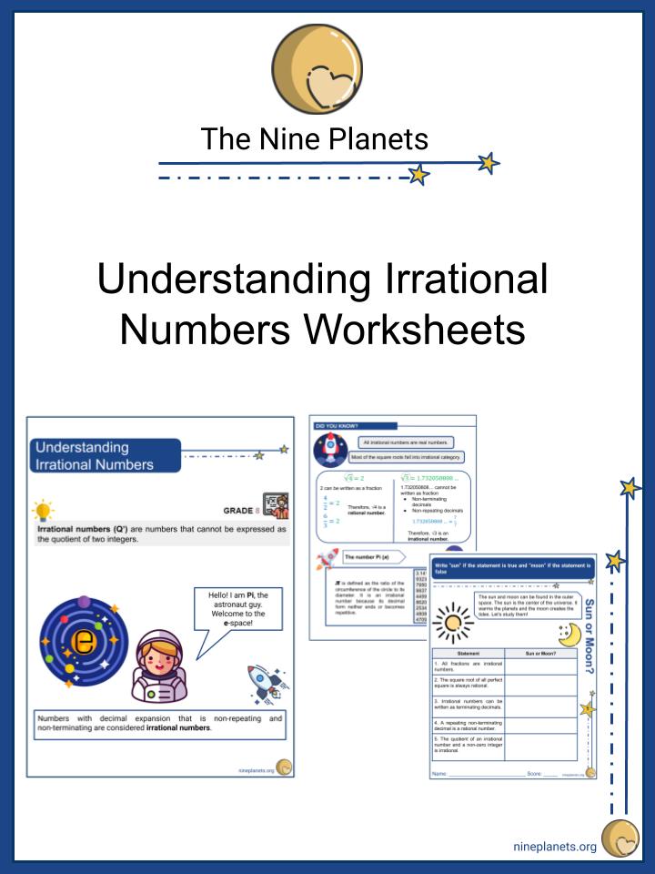 Understanding Irrational Numbers
