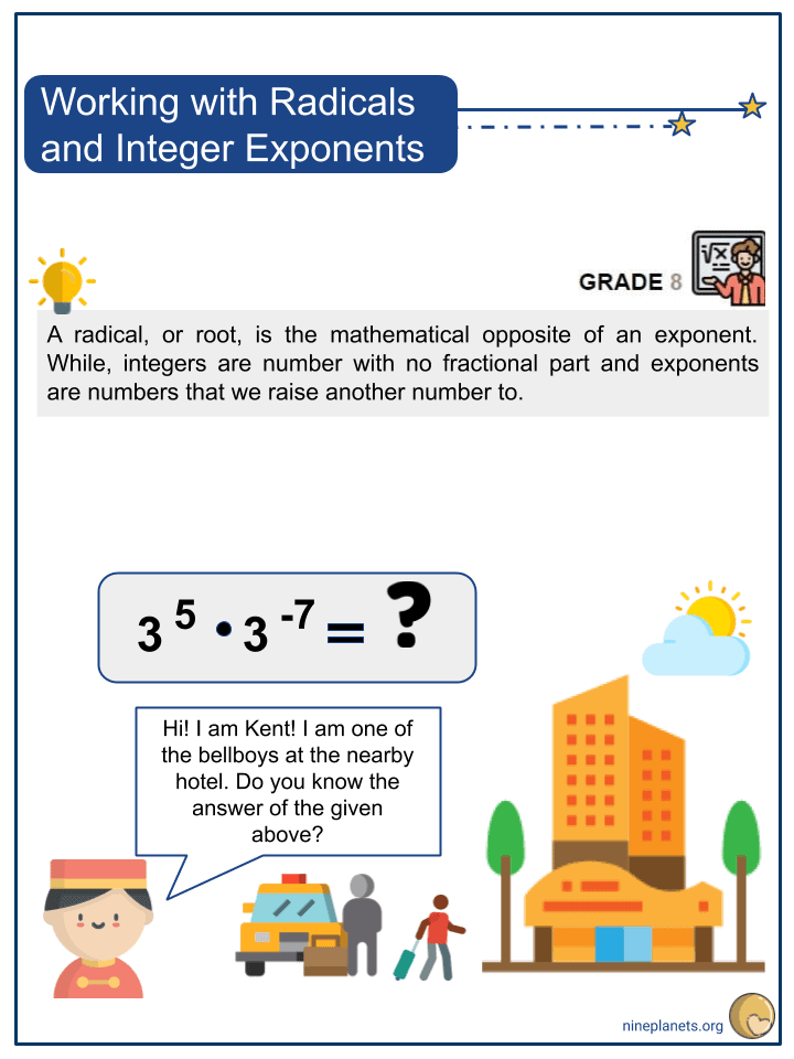 Working with Radicals and Integer Exponents (1)