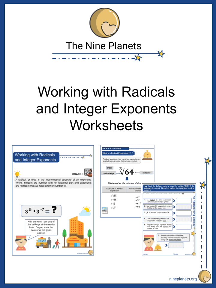 Working with Radicals and Integer Exponents